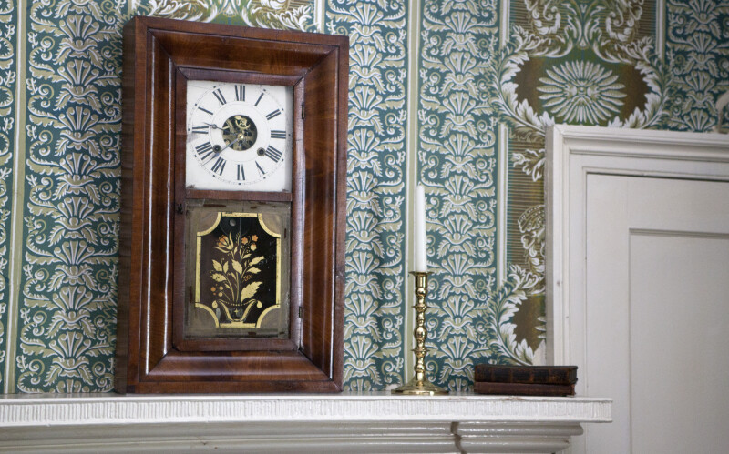 A Clock on the Mantel