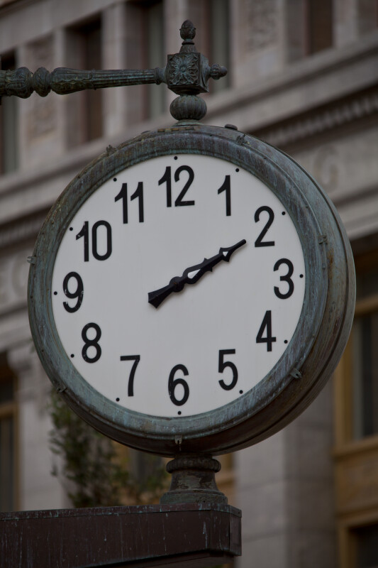 A Clock with an Hour Hand