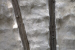 A Close-Up of a Half-Timbered Wall