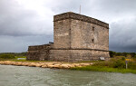 A Closer View of Fort Matanzas, from the Northeast