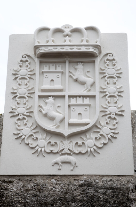 A Coat of Arms at Castillo de San Marcos