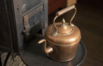 A Copper Tea Kettle on the Stove
