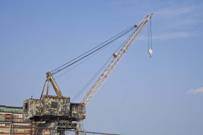 A Crane near the Docks