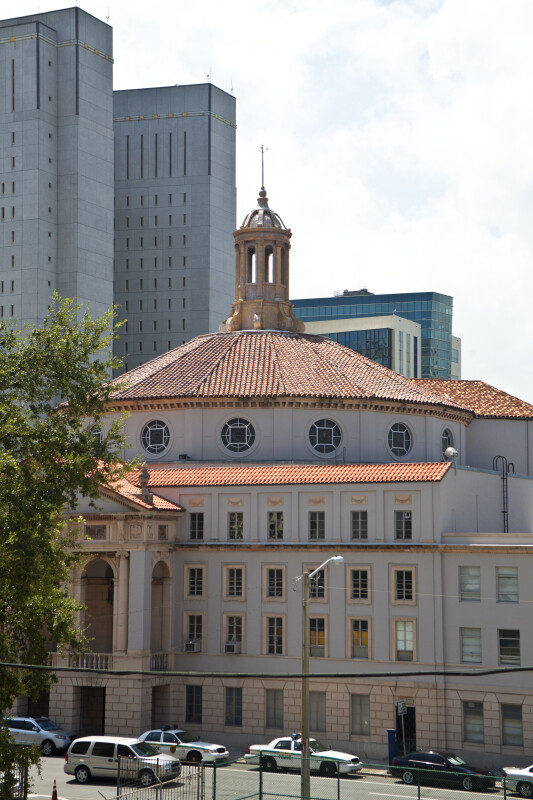 A Cupola on the Roof of a Church
