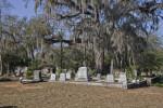 A Curb around a Cemetery Plot