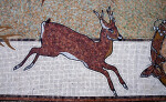 A Deer in a Mosaic