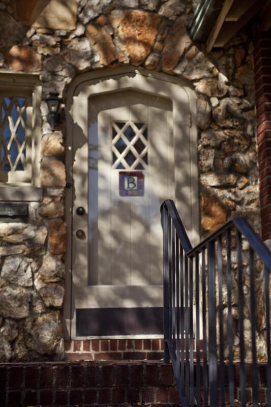 A Doorway with a Tudor Arch