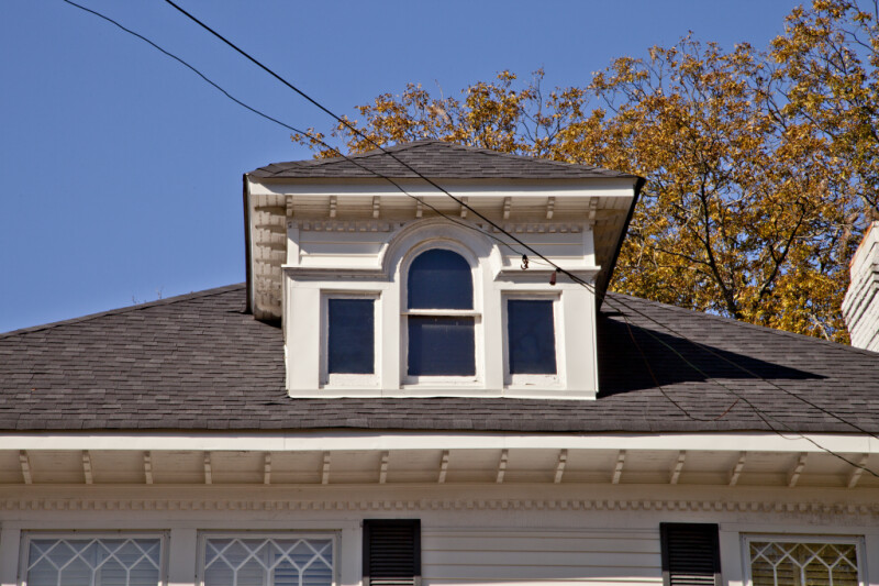 A Dormer with a Palladian Window