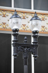 A Double Street Lamp