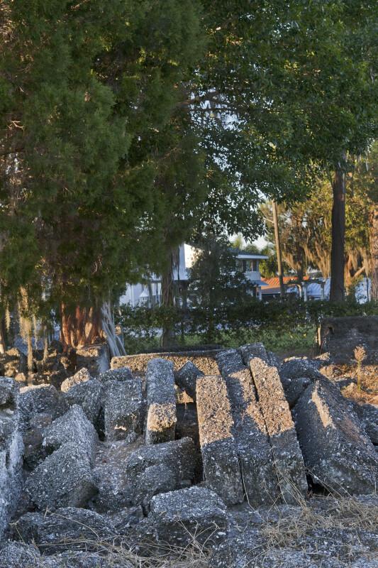 A Fallen Tabby Wall