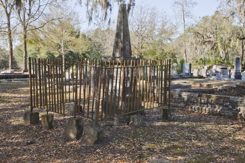 A Fence around an Obelisk