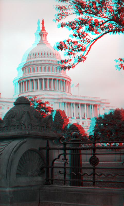 A Fenced Flower Garden, Northwest of the United States Capitol