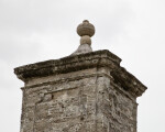 A Finial on top of a Stone Pillar