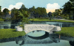 A Footbridge in Riverside Park