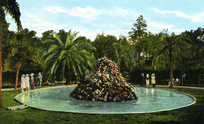 A Fountain in Plant Park
