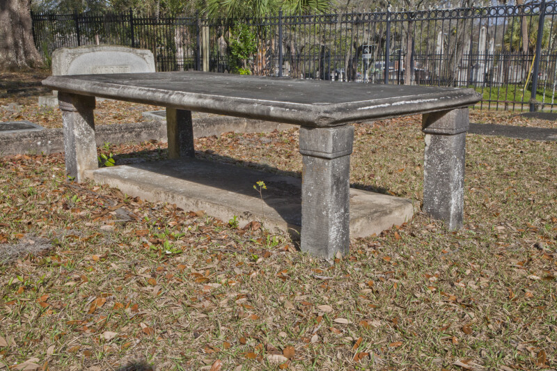 A Four-Legged Table Tomb