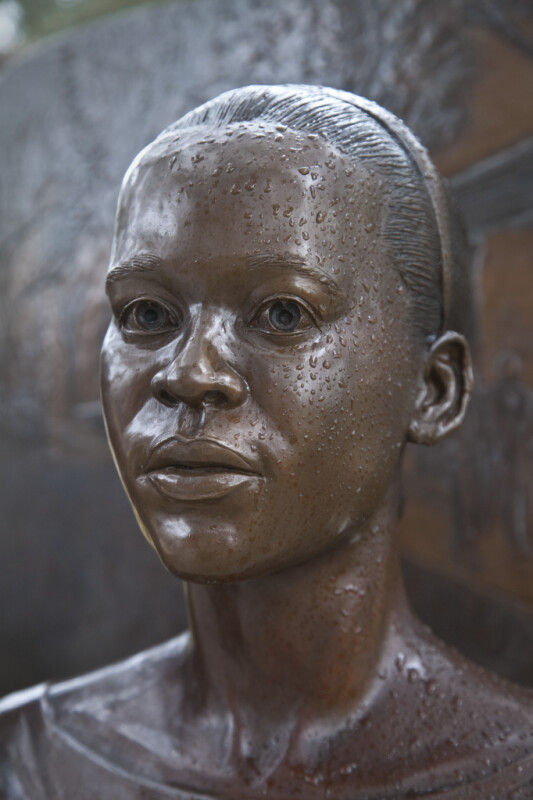 A Fourth Sculptural Figure on a Civil Rights Monument