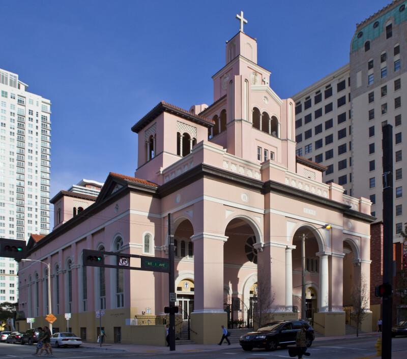 A Full View of Gesu Catholic Church
