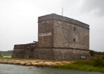 A Gloomy View of Fort Matanzas, from the Northeast