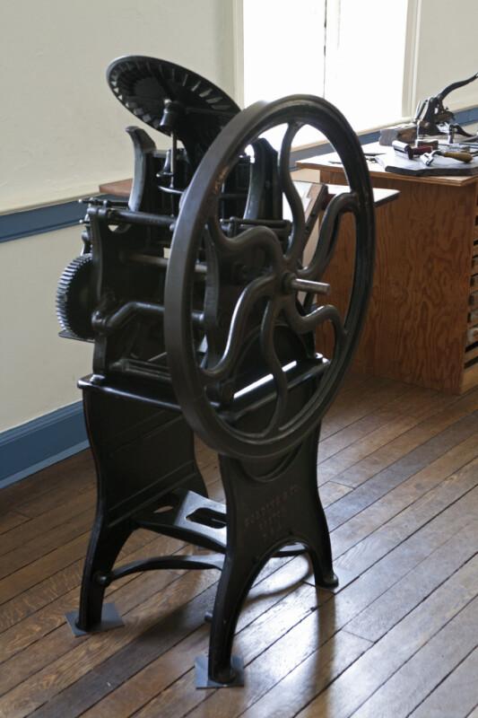 "A Golding & Company ""Pearl"" Printing Press"