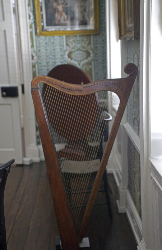 A Harp in the Music Room