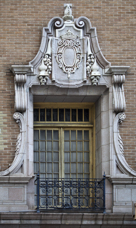 A Highly Ornate Window