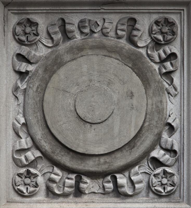 A Horizontal Spandrel Panel on the Ingraham Building
