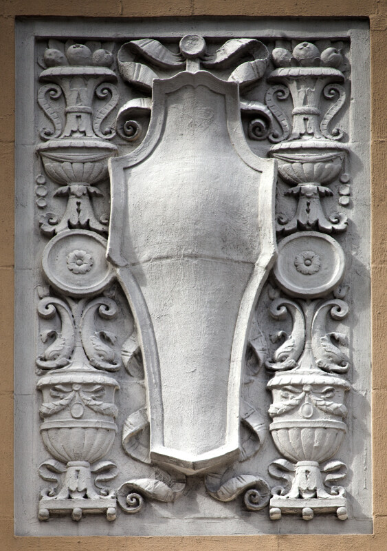 A Horizontal Spandrel Panel with Fruit-Filled Urns