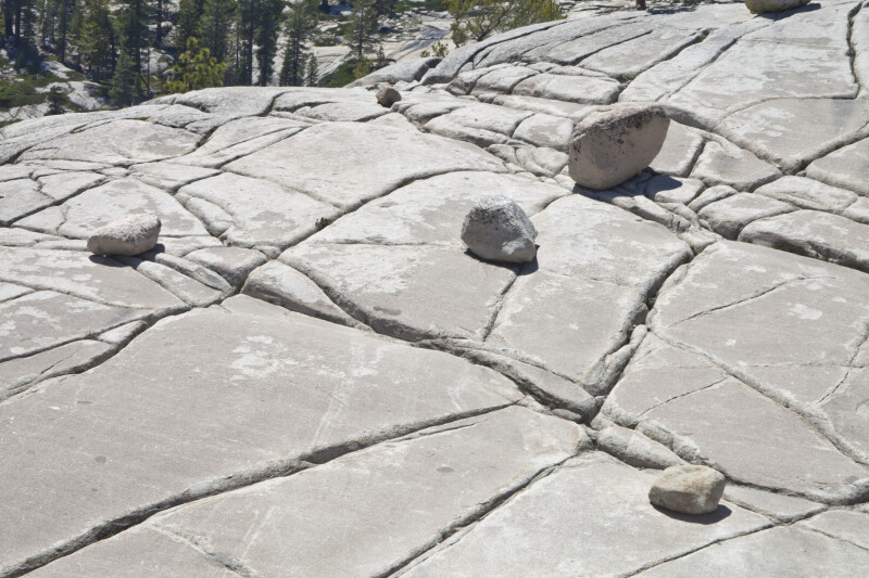 A Jointed Granite Surface at Olmstead Point