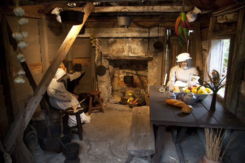 A Kitchen Scene