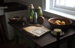 A Kitchen Work Table