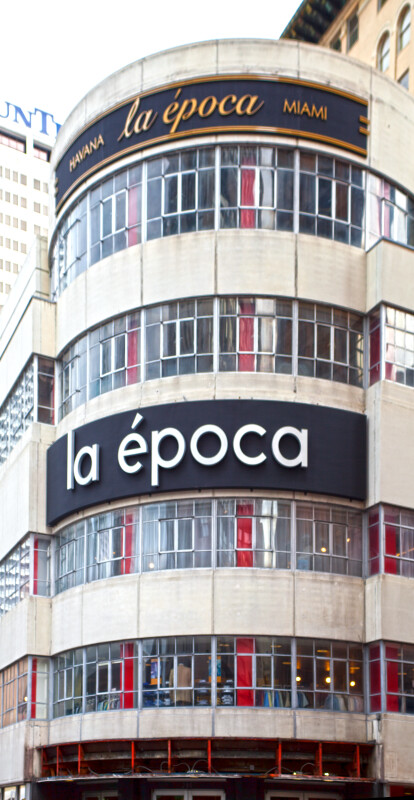 A La Epoca Department Store in an Historic Building
