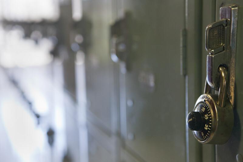 A Lock on a Locker