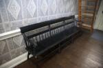A Long, Black Bench