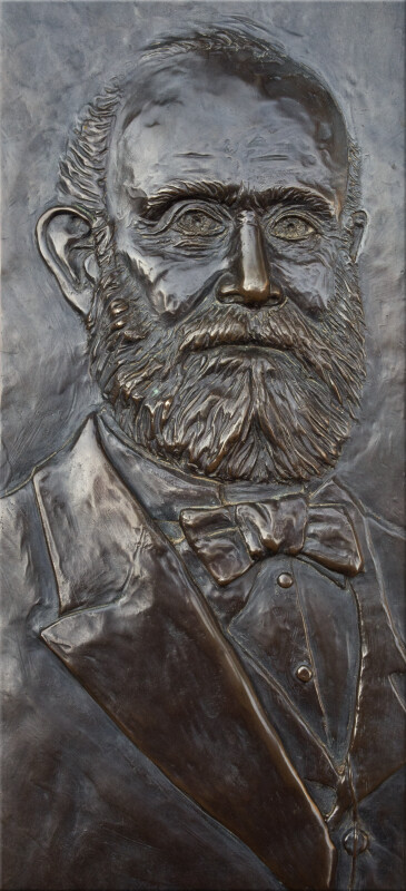A Low Relief of James Hutchings