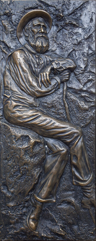 A Low Relief of John Muir