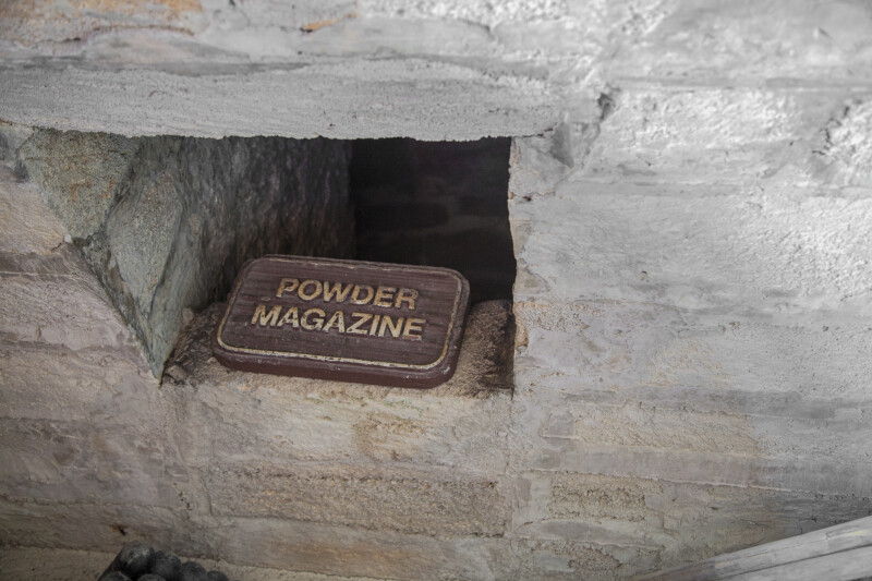 A Marker for the Powder Magazine