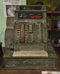 A Metal National Cash Register