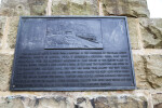 A Metal Plaque Showing Engine House Number Six