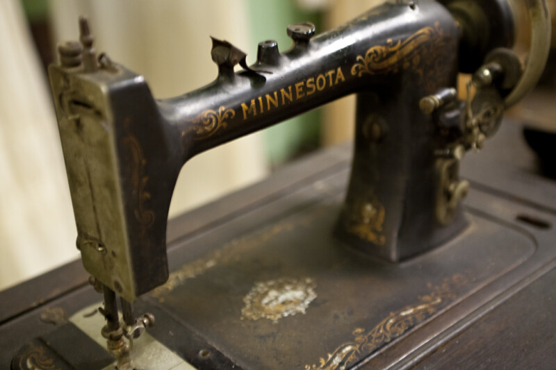 A Minnesota Sewing Machine