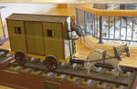 A Model of a Horse-Drawn Railroad Car