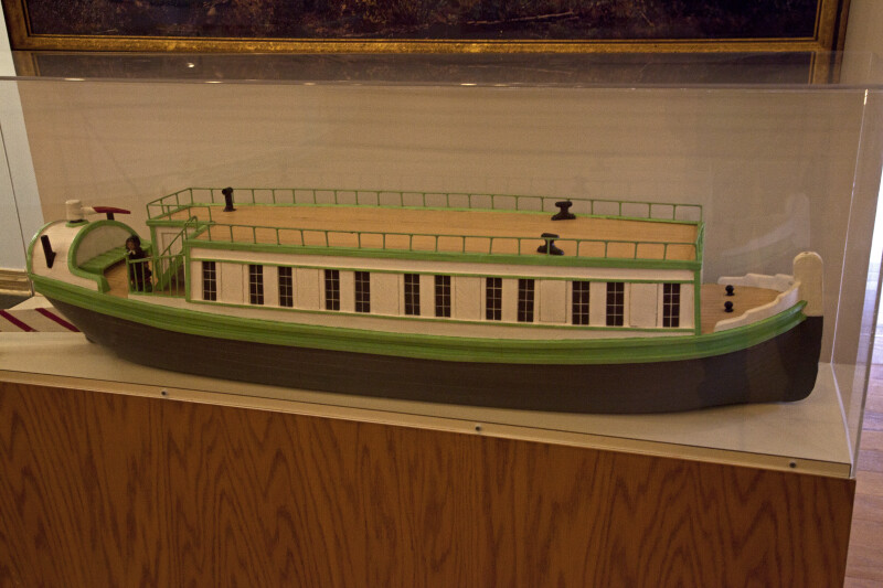 Packet Boat Pictures a Model of a Packet Boat