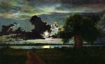A Moonlight Scene of Boca Ciega Bay