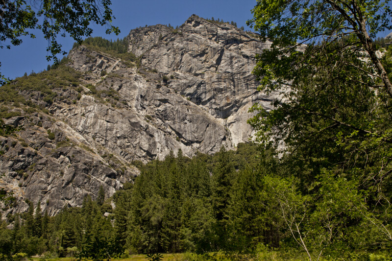 A Mountain in Yosemite National Park