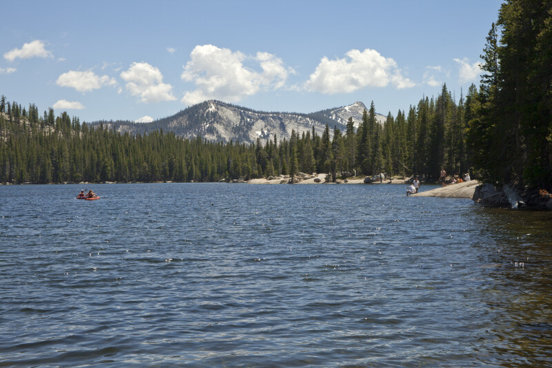 A Mountain near Tenaya Lake