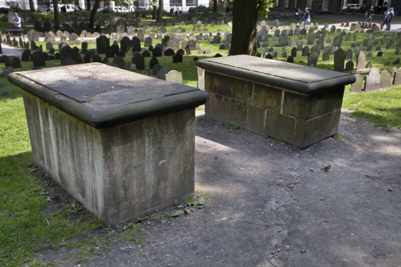 A Pair of Box Tombs