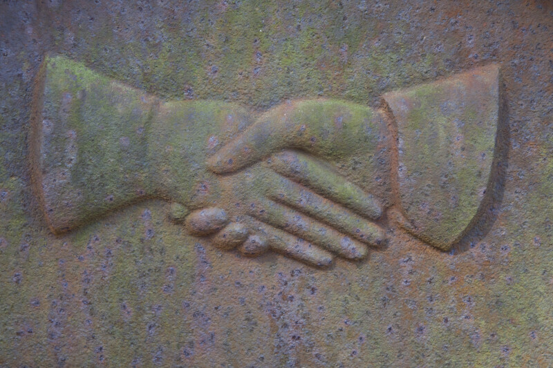 A Pair of Clasped Hands