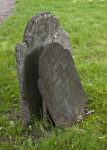 A Pair of Shouldered Tablet Headstones