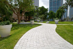 A Paved Walkway