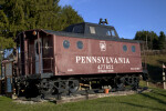 A Pennsylvania Railroad Caboose